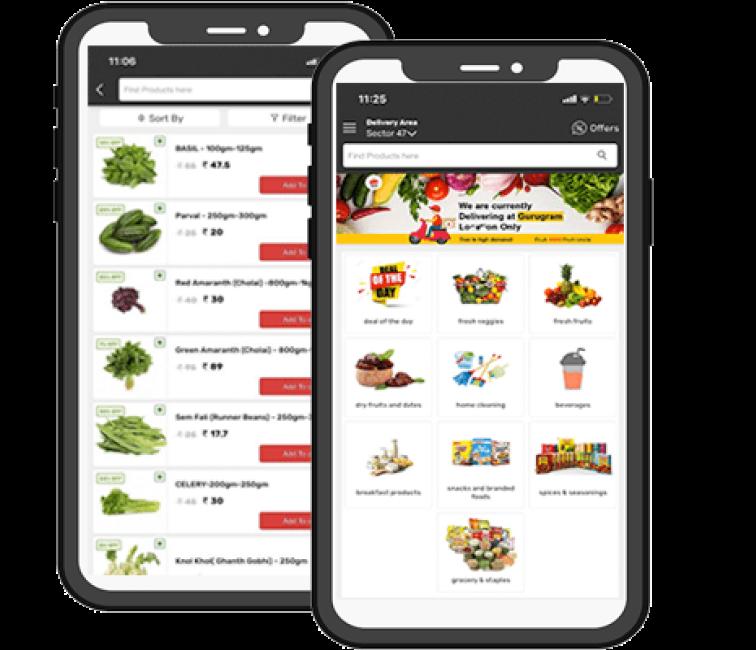 grocery app devp